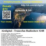 Airdigital - Trancefan Radioshow #348 2018-05-03