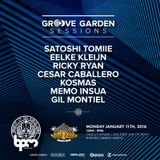 Ricky Ryan - live at Groove Garden, Wah Wah Beach Bar (The BPM 2016, Mexico) - 11-Jan-2016
