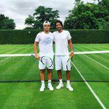 Rescaldo de Duarte Vale e Emanuel Couto após a participação no torneio de Wimbledon