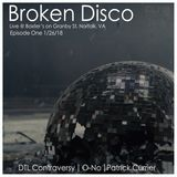 Patrick Currier Live at Broken Disco (Norfok, VA) 1_26_18