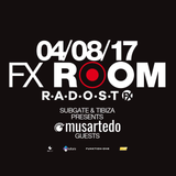 TOMEXX @ FX Room / Radost FX Prague 2017