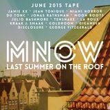 Last summer on the roof (june 2015 tape)