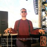 DJ Phono's Best of the Year Mix 2016 for THUMP 14-12-2016
