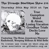 The Strange Boutique Show 275