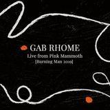Gab Rhome - Pink Mammoth / Burning Man 2019