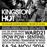 Sentinel, Pow Pow, Ward 21 & Team Wuk´n´Wild live at Kingston Hot, Stuttgart 11.2016