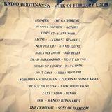 Radio Hootenanny Early February 2018