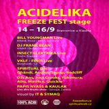 Bill Youngman (Live PA) @ Acidelika - Freeze Fest Stage - Industrie Areal Region Prag - 14.09.2012