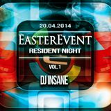 EASTER EVENT 20.04.2014 EKWADOR MANIECZKI vol.1 DJ INSANE