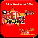 #enREDate con El Tachaz, lunes 24 de Noviembre 2014