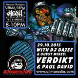 Dazee Presents The Ruffneck Ting Take Over Oct 29 2015 with Verdikt Guest Mix