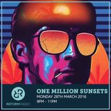 One Million Sunsets 28th March 2016