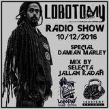 "Lobotomy Sound & Selecta Jallah Kadafi ""Special Damian Jr Gong Marley & New Roots 2k10"" 10/12/2016."
