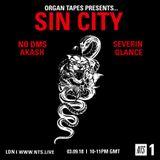 Organ Tapes - 3rd September 2018
