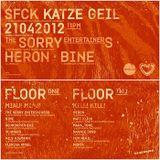 Schmand @ Stressfucktor Presents Katze Geil - Weidendamm Hannover - 21.04.2012