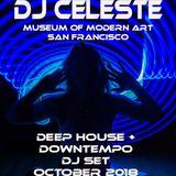 DJ Celeste @Museum of Modern Art San Francisco - Downtempo + Deep House Mix
