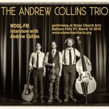 Andrew Collins interview on WOOL-FM