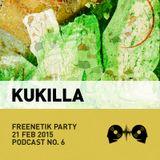 Kukilla @ Freenetik Party, Timisoara, RO - 21 Feb 2015