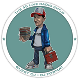 45 Live Radio Show pt. 60 with guest DJ FORMAT
