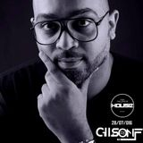 2016.07.28 - 2. DJ Gilson F @ FOR THE LOVE OF HOUSE (Mix 04)