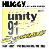 DJ HUGGY & MC MAN PARRIS (BANANERGY / DANCE UNITY 1992 HULL)