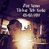 Zoe Xenia at Tikkie Tek Radio on www.amw.fm  (08/02/2017)