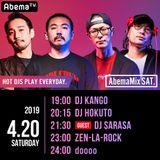 AbemaTV AbemaMix SAT 2019/04/20 DJ HOKUTO