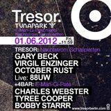 October Rust @ Tuna Park: E-Man-Ci-Pate Meets Nachtstrom Schallplatten - Tresor Berlin - 01.06.2012