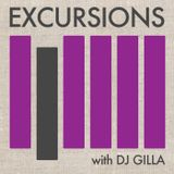 Excursions Radio Show #8 with DJ Gilla - June 2012