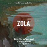 Zola live at Disco Kiez auf dem Dach (26.05.17) @ Klunkerkranich Berlin