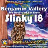 Benjamin Vallery - Slinky 18 Live - April 2017