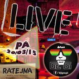 Dj GeGi & LIVE Mix For The RATEJNA Brno (20-03-2015)
