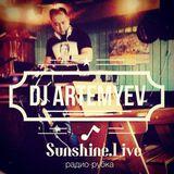 Dj Юра Артемьев - Радио-рубка SunshineLive