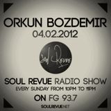 Orkun Bozdemir - FG Sunday Residents - 04.02.2012- SOUL REVUE RADIO SHOW