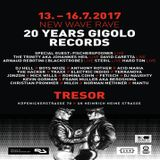Dj Hell @ New Wave Rave 20 Years Gigolo Records - Tresor Berlin - 15.07.2017