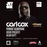 Carl Cox - Live in Istanbul at Jeton Nights, Zorlu PSM - 28-Sep-2019