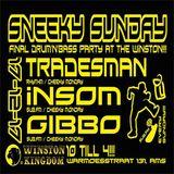 TRADESMAN 17/12/17 SNEEKY SUNDAY_LAST D&B PARTY AT THE WINSTON!!!