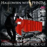 GT - Warm Up for 1605 Halloween Night with PHNTM @ Club Terazza, Celje 29.10.2011