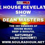 DEAN MASTERS - HOUSE REVELATION SHOW - SOUL RADIO UK 17-11-18