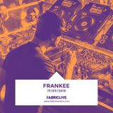 Frankee - FABRICLIVE Promo Mix (Jun 2015)