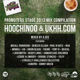 The Official Hoochinoo Boom Bap Festival Mixtape 2013 Mixed by A.Gee