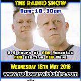 RW075 - THE JOHNNY NORMAL RADIO SHOW - 18TH MAY 2016 - RADIO WARWICKSHIRE