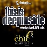 THIS IS DEEPINSIDE live @ LE CHIC Deauville (Dec 2015)