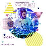 YIORCH @ Tercer Aniversario WOMEN BEAT & Friends (Murcia) 18 - 03 - 2017