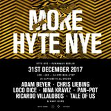 Pan-Pot @ HYTE NYE Berlin 2017 - 31 December 2017