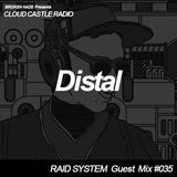 'CLOUD CASTLE RADIO' x 'RAID SYSTEM' Guest Mix #035: Distal
