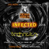 Vienna Virus infects Technolog - Werk Club Wien