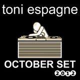 Toni Espagne October Set 2012 (Progressive House)