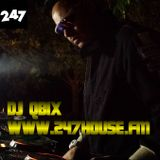 DJ QBIX LIVE@247HOUSE.FM DJK#283 PT.2 Techno 11-4-2016
