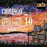 CHIRINGO. SUNDAY EVENING AFTER PARTY X. Summer 2018